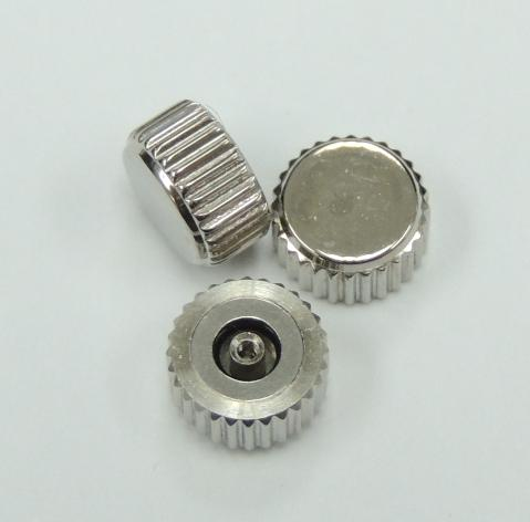 Diameter 7.5mm x Tube 2.5mm S.S. Waterproof Crown (Packing of 3 pcs)
